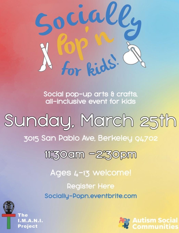 Socially Pop'n for kids