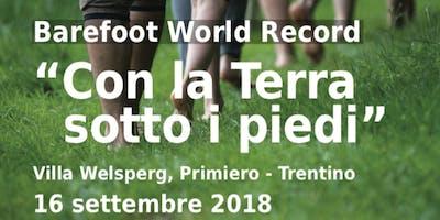 """""""Con la Terra sotto i piedi"""" - Barefoot World Record"""