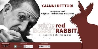 GIANNI DETTORI in White Rabbit Red Rabbit