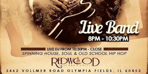 Live Band Saturdays at Redwood