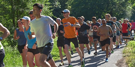 Neckarau parkrun - free, weekly, timed, 5km run, walk or jog billets