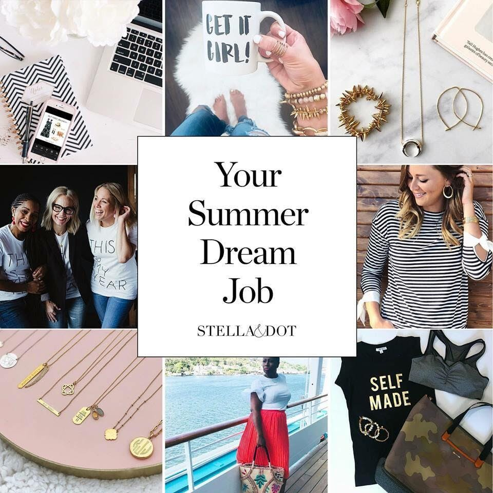 Stella & Dot Bringing Hoopla Home & Stylist O