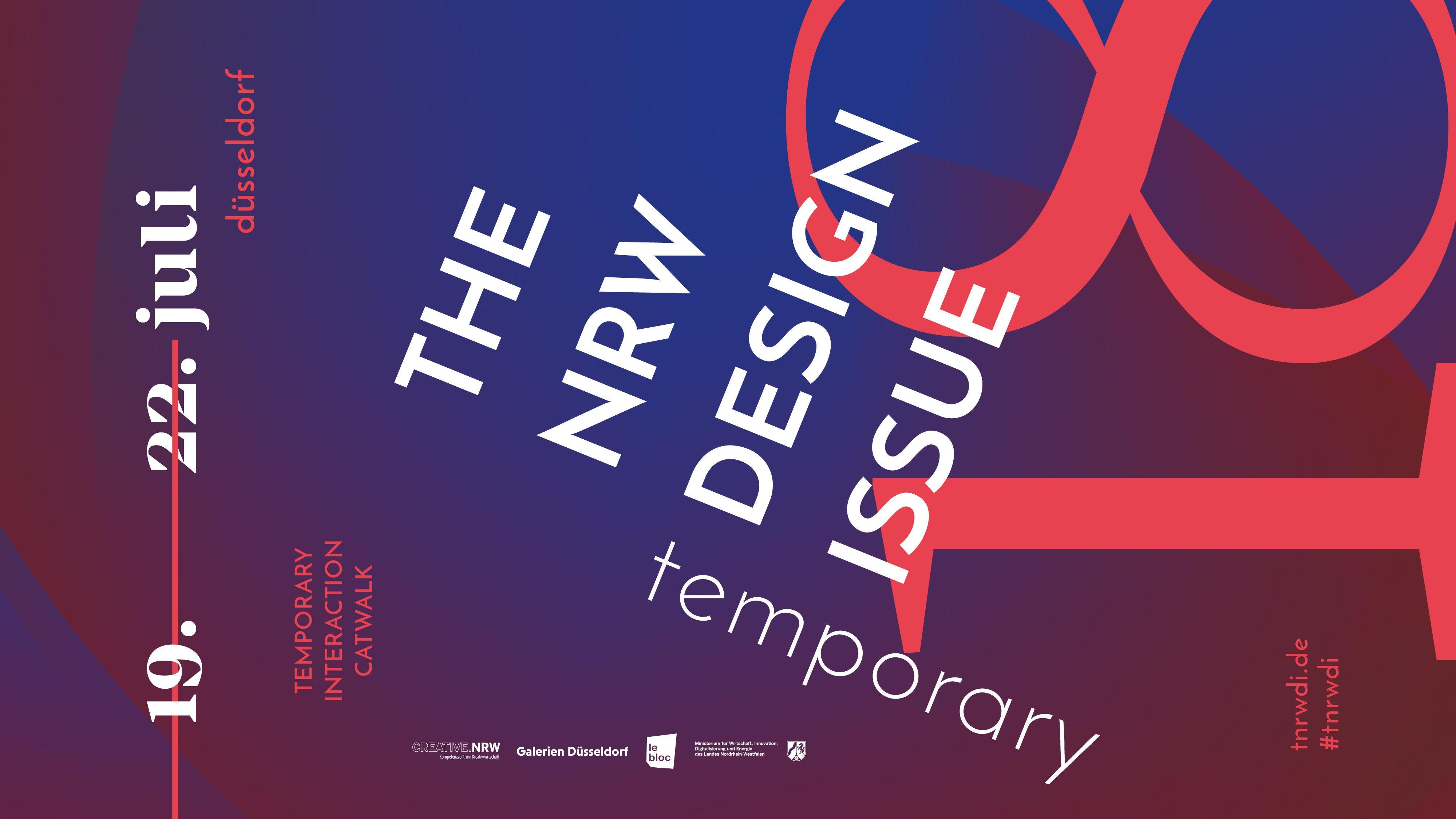 THE NRW DESIGN ISSUE / TEMPORARY