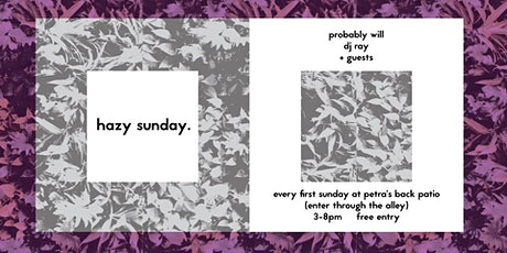 Hazy Sunday tickets
