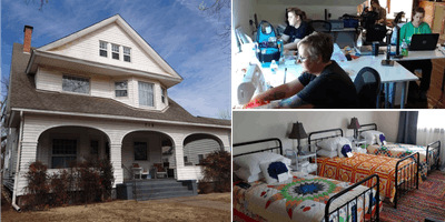 Weekend Crafting Retreats for 12 in Beautiful 1894 Historic Home