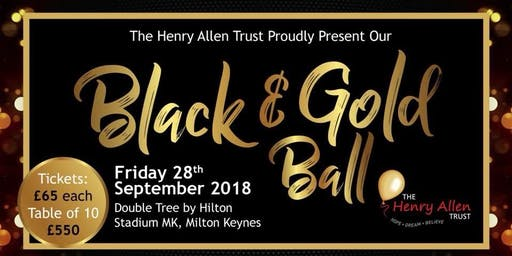 The Henry Allen Trust Black & Gold Ball
