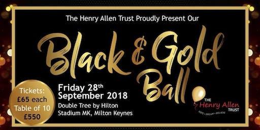 The Henry Allen Trust Black & Gold Ball
