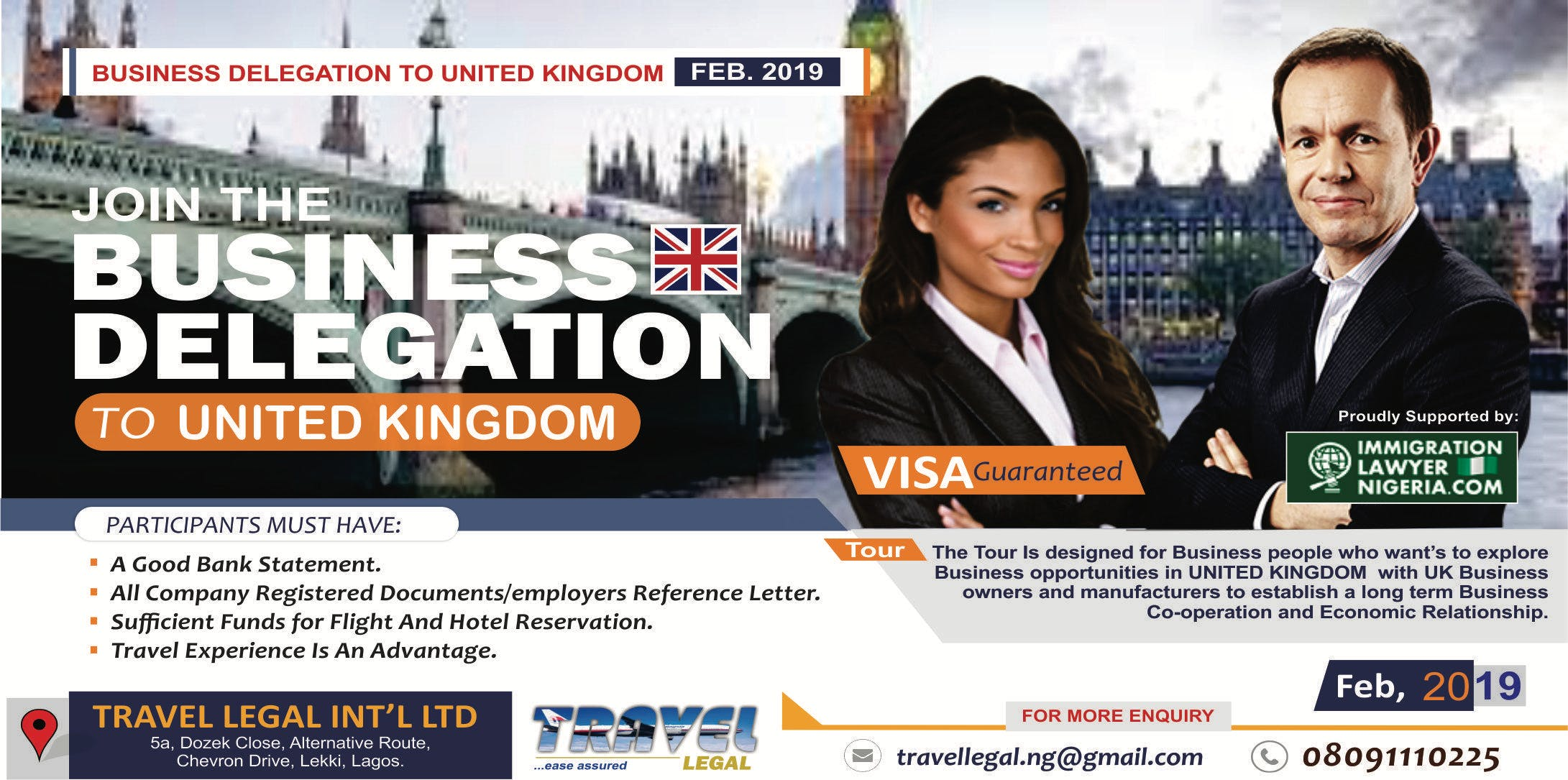 Business Tour to United Kingdom