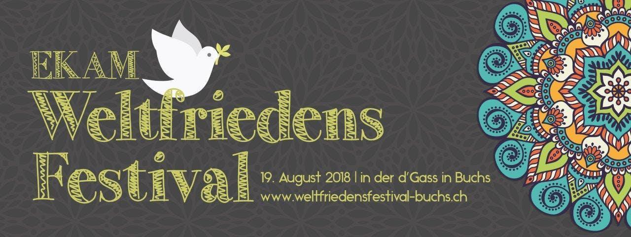 EKAM Weltfriedensfestival in Buchs SG - Schweiz