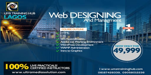 Web design and development training