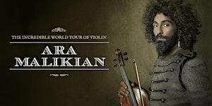 Ara Malikian en Ávila - The Incredible World Tour of...