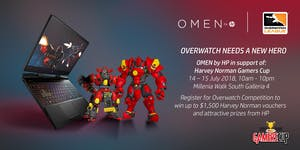OMEN by HP in support of: Harvey Norman Gamers Cup