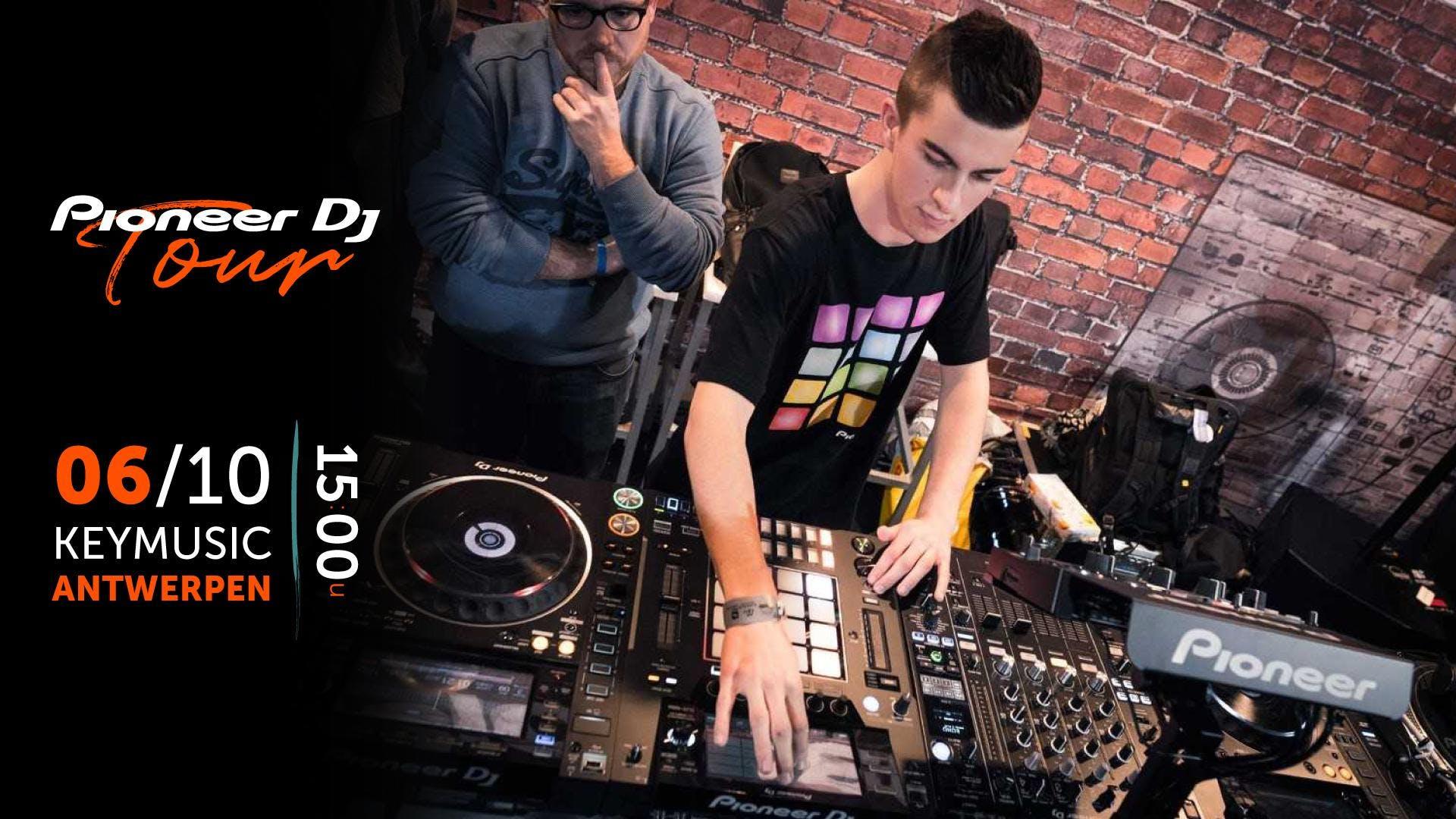 Pioneer DJ tour KEYMUSIC Antwerpen