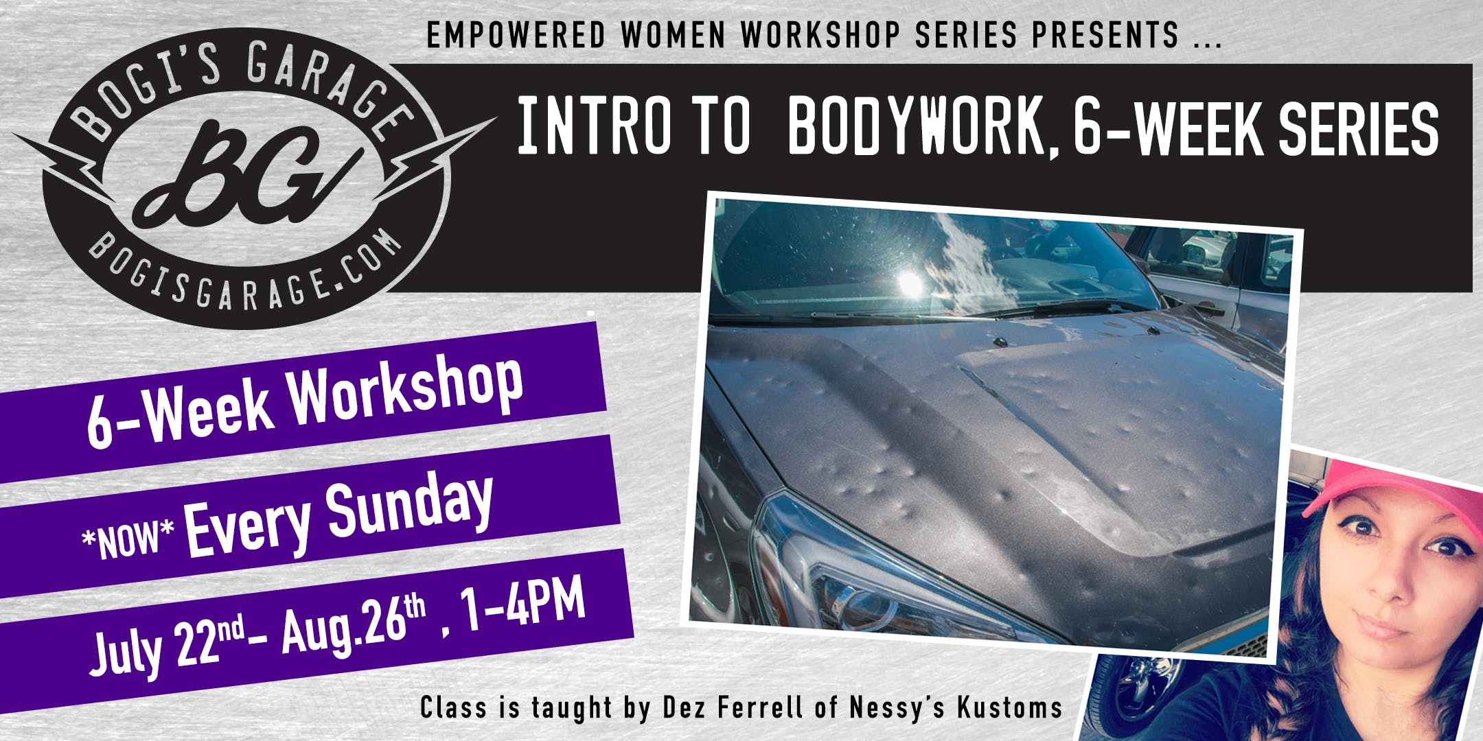 NEW! Intro. to Bodywork, 6-Week Workshop