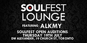 The Soulfest Lounge ft ALKMY