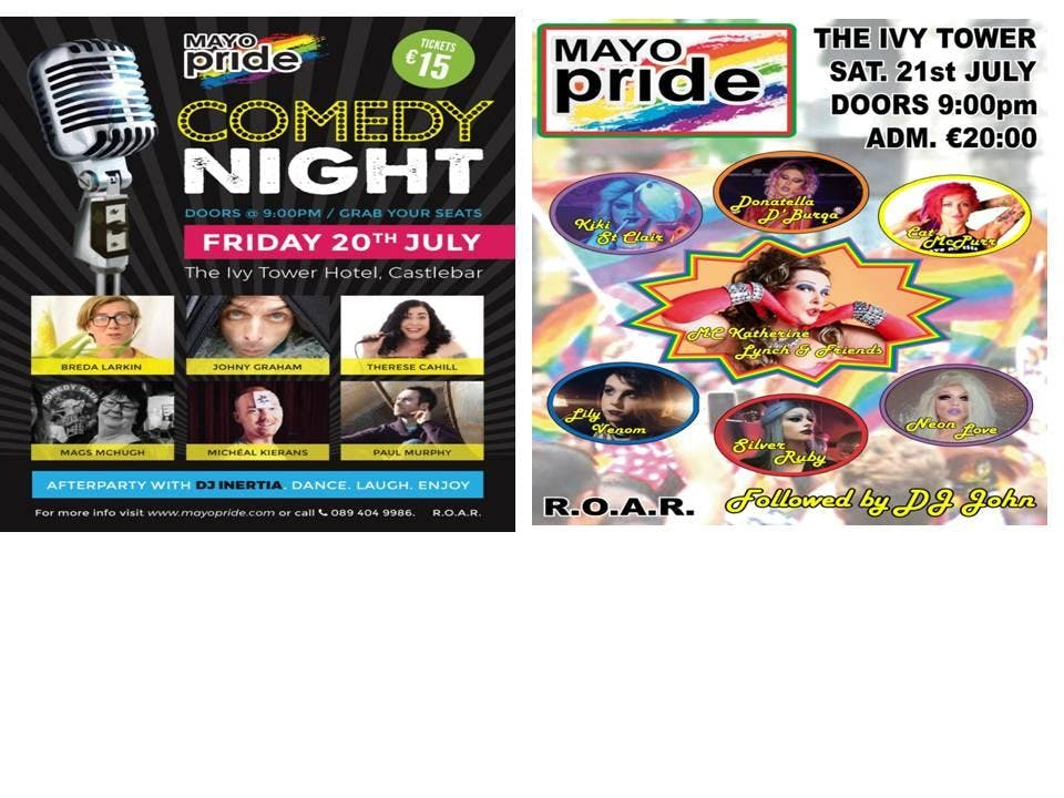 Mayo Pride 2018 Weekend Special