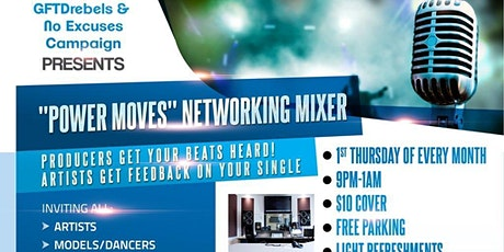 POWER MOVES Industry Networking Mixer tickets