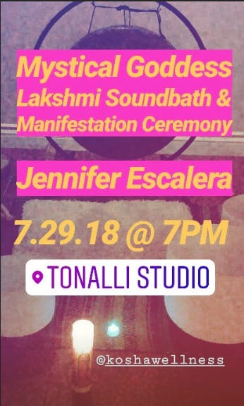 Mystical Goddess Lakshmi Soundbath & Manifest