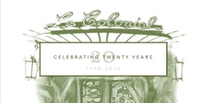 Le Colonial's 20th Anniversary Party | Throwback to...