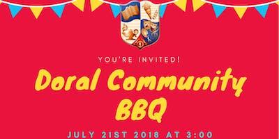 Doral community BBQ