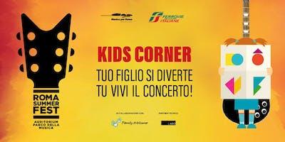 Kids Corner gratuito durante il concerto di Pat Metheny al RomaSummer Fest