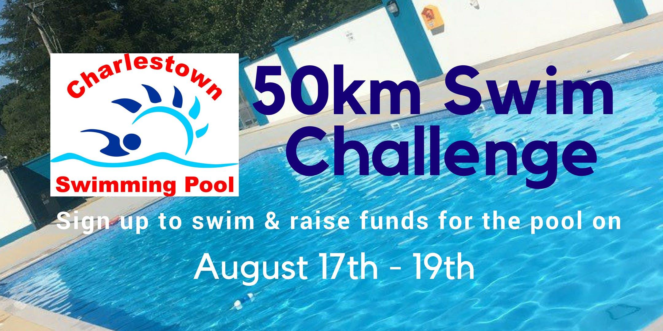 Swim Challenge - Fun50kSwim for Charlestown Pool
