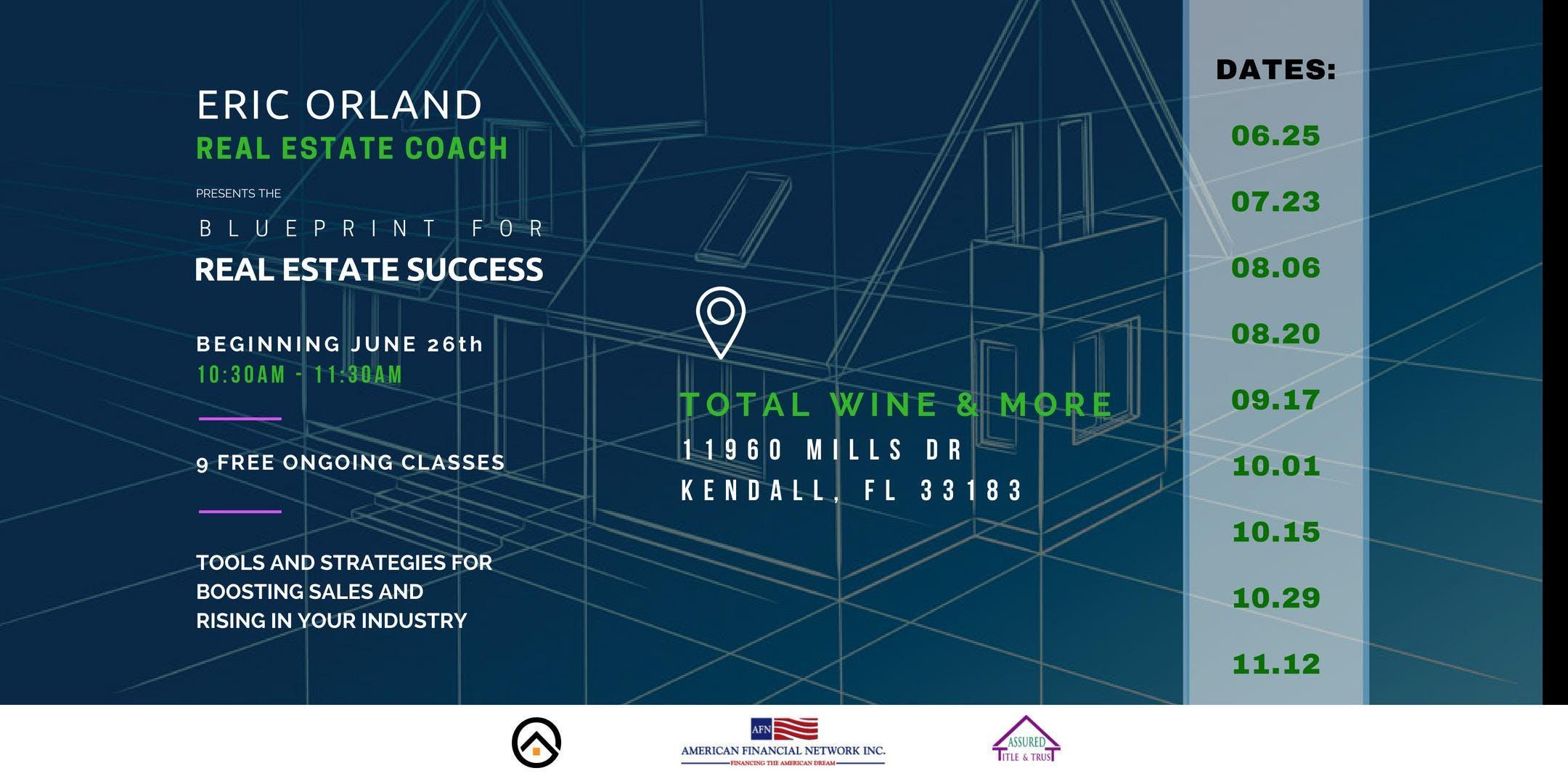 Blueprint for Real Estate Success Series - Ke