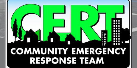 Downey's Community Emergency Response Training (CERT) tickets