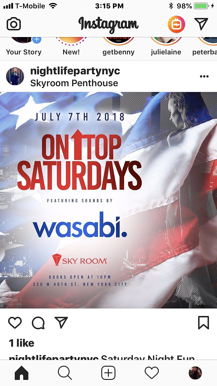 FREE SATURDAYS @ Skyroom rooftop FREE DRINK TICKETS