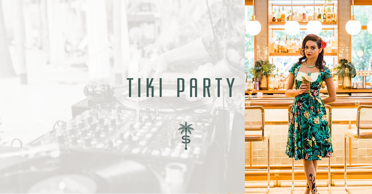 Tiny Umbrellas | A Tiki Party at The Scott
