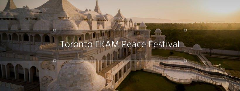 Toronto EKAM Peace Festival