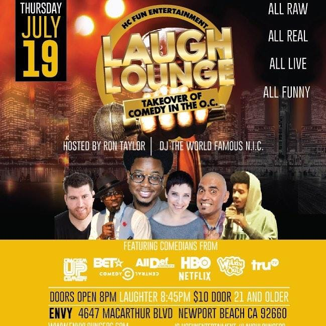 HC Entertainment Presents Laugh Lounge