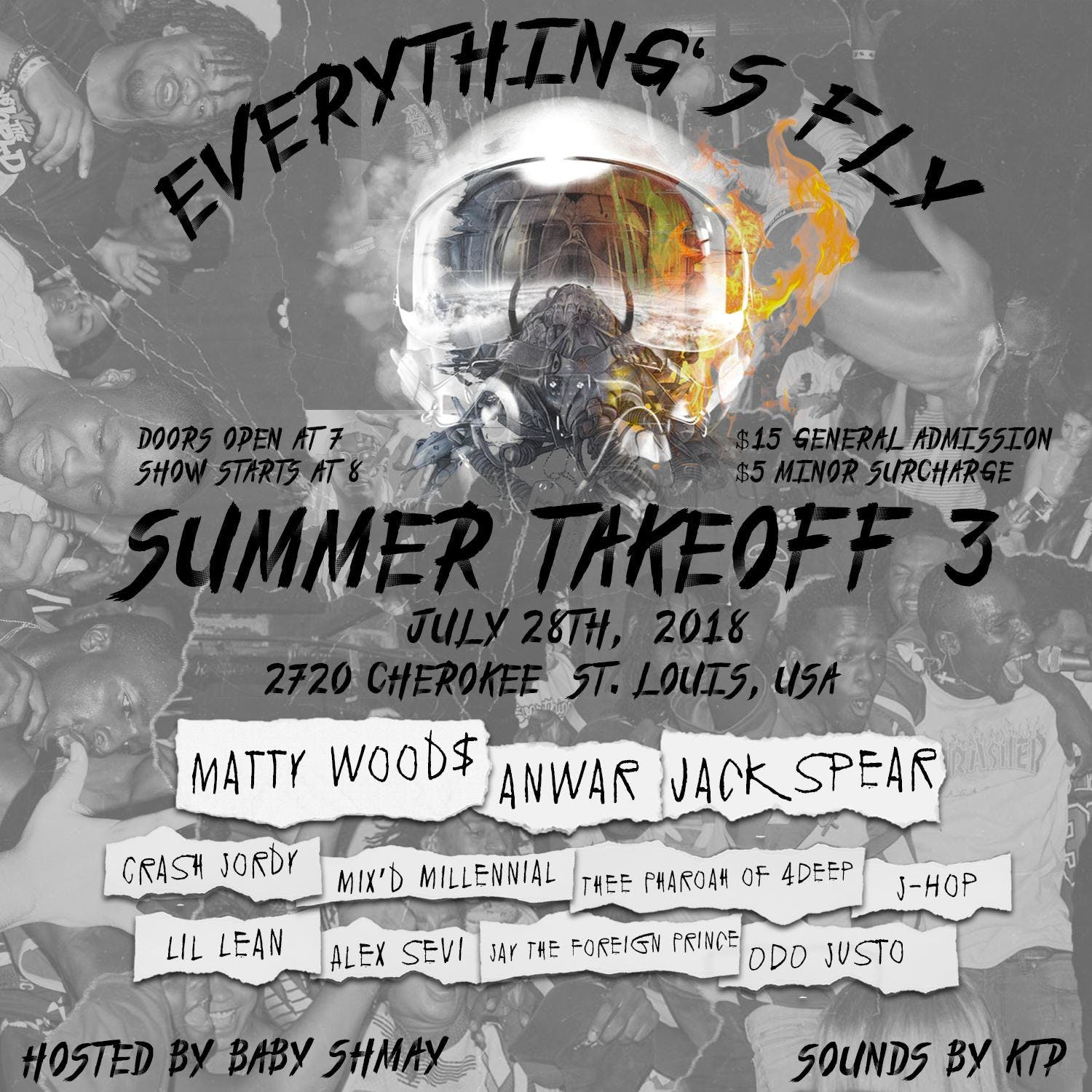 """Everything's Fly Presents """"Summer Takeoff 3"""""""