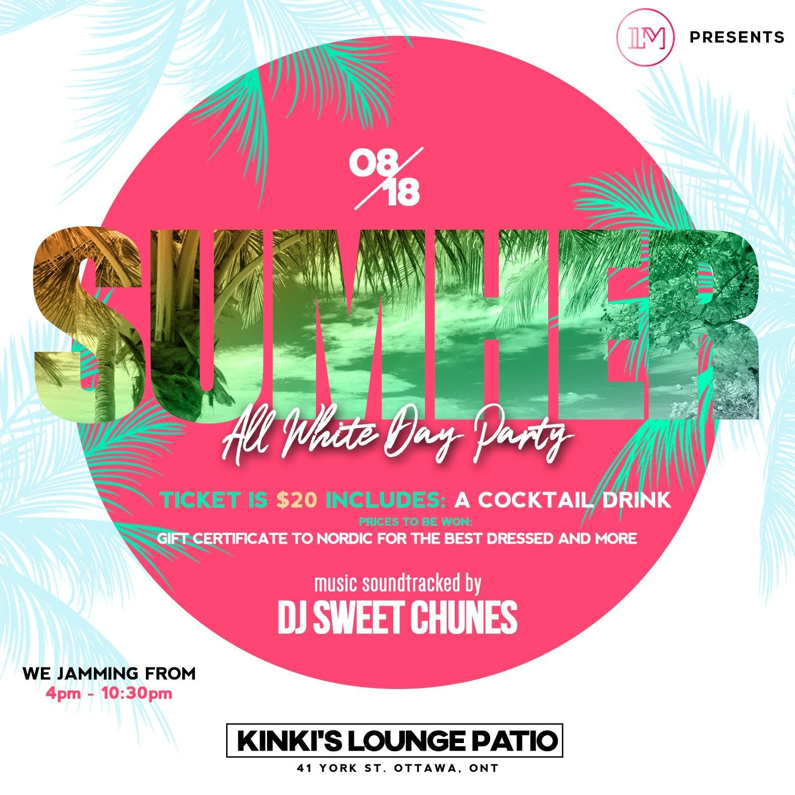 SUMHER -All White Day Party