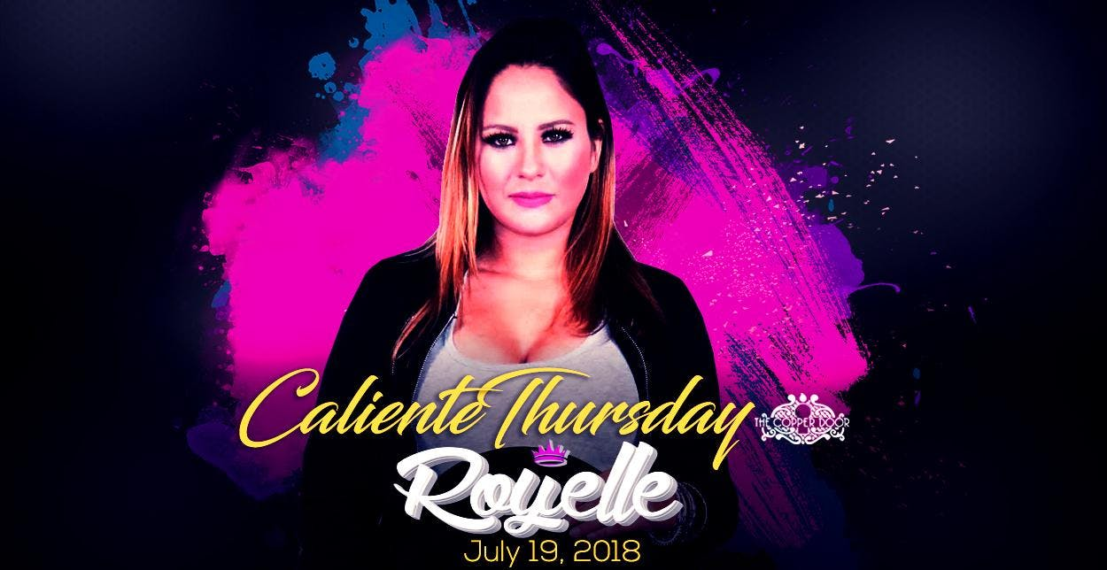 Latin Thursday Night with DJ Royelle_Girs Nig