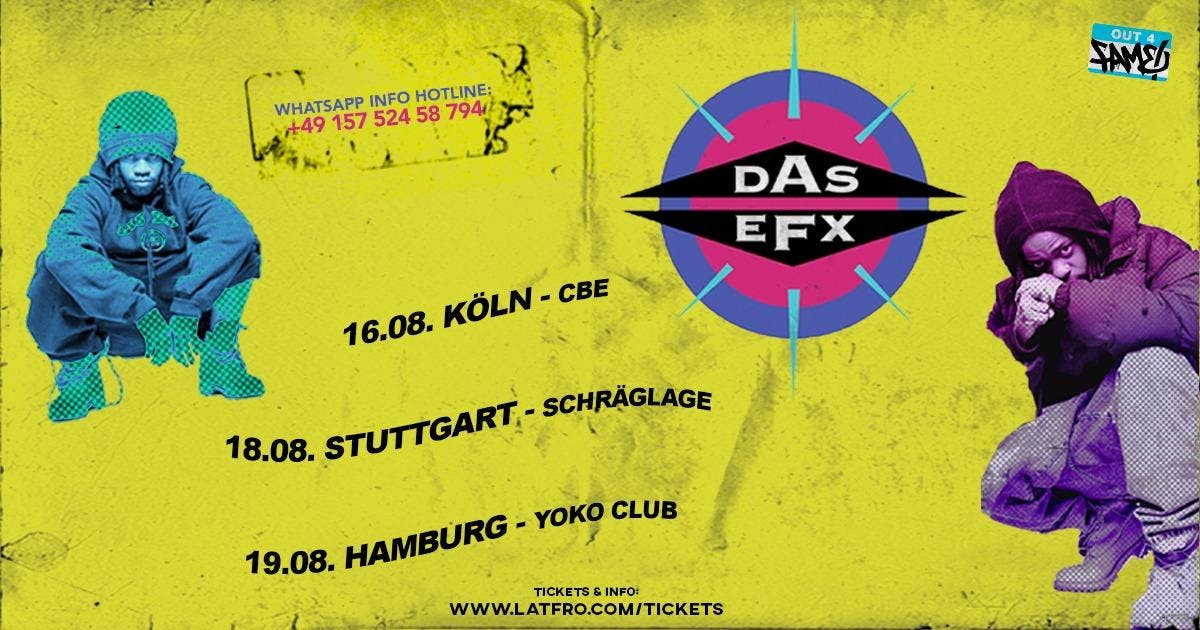 DAS EFX Live in Concert l August 16th 2018 l