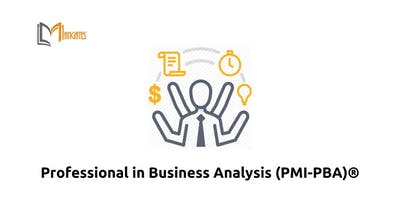 Professional in Business Analysis (PMI-PBA)® in Canberra on Dec 10th-13th 2018