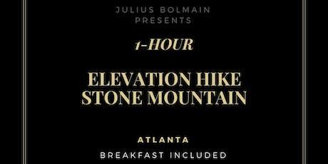 1-Hour Stone Mountain Workout | Elevation Hike (700 feet) tickets