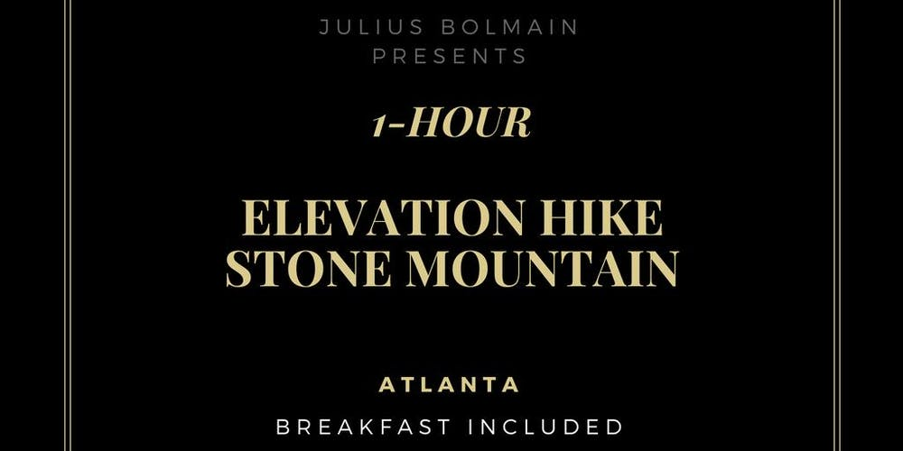 1 Hour Stone Mountain Workout Elevation Hike 700 Feet Tickets