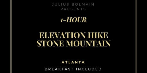 1-Hour Stone Mountain Workout   Elevation Hike (700 feet)