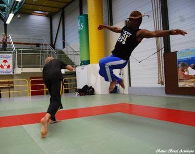 Capoeira avecle groupe Raizes Brasil Armoriqu