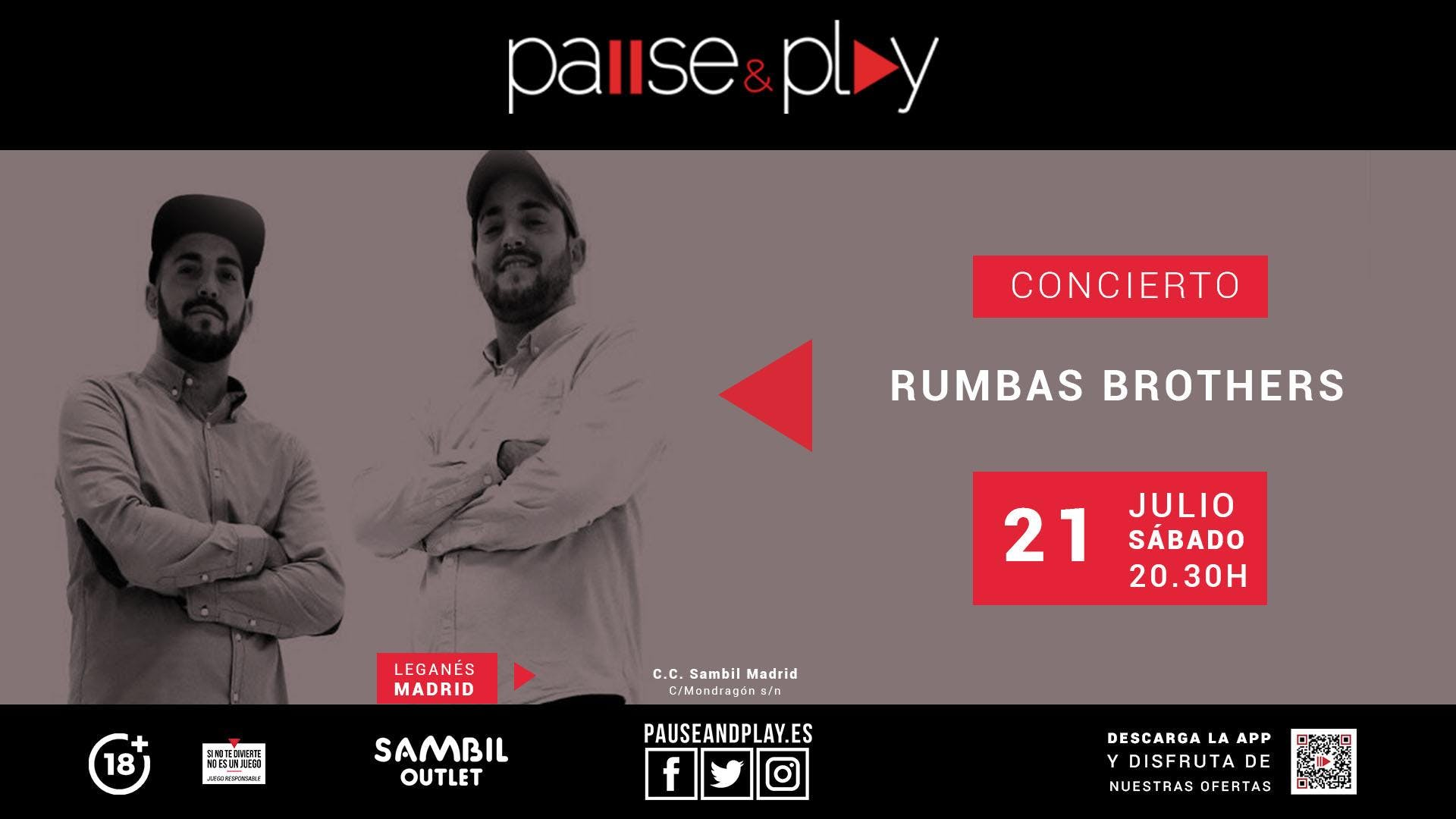 The Rumbas Brothers en Pause&Play