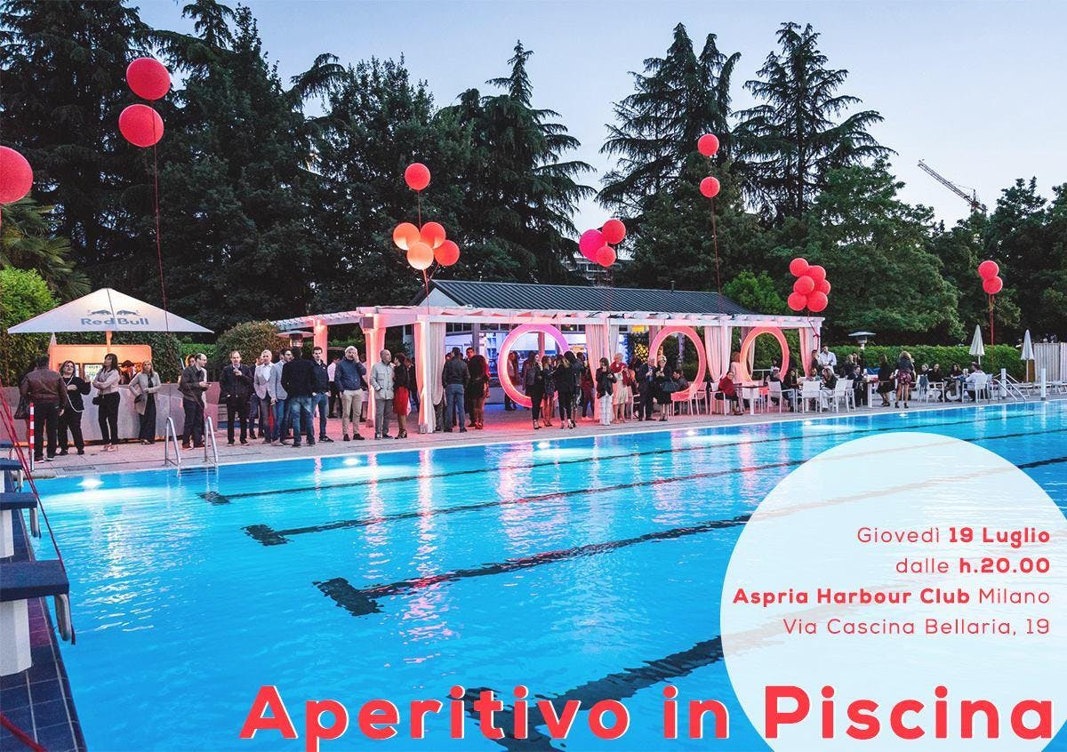 Aperitivo in Piscina | Harbour Club - AmaMi Communication