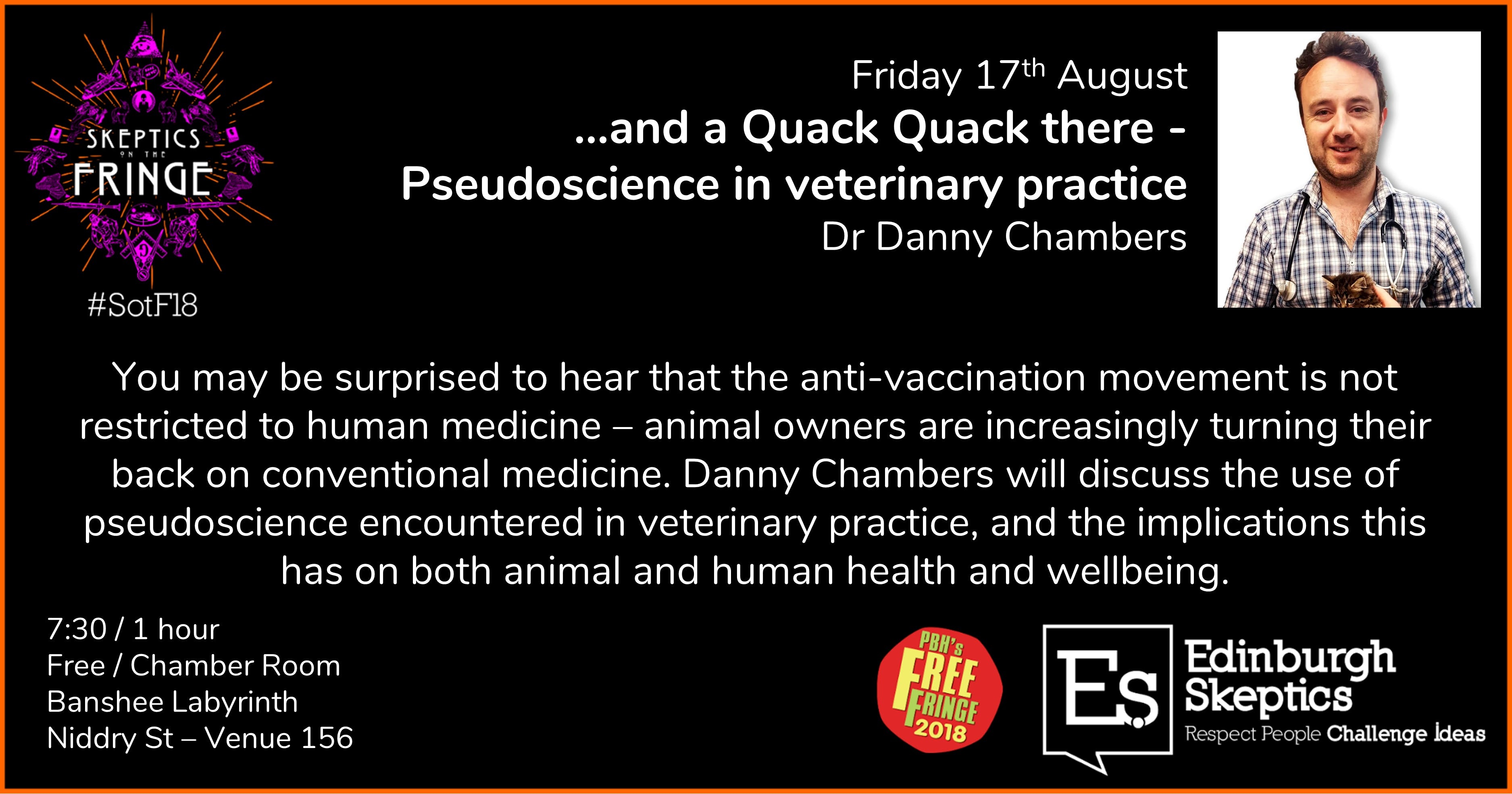 Dr Danny Chambers - ...Quack Quack there: Pse