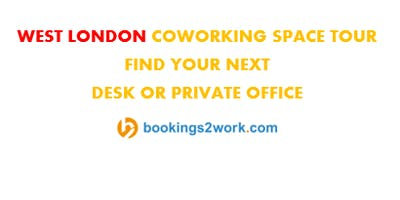 West London Coworking Space Tour - Find Your Next Hot Desk or Private Office