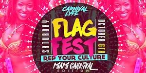 """FLAG FEST """" REP YA CULTURE """" MIAMI CARNIVAL 2018..."""