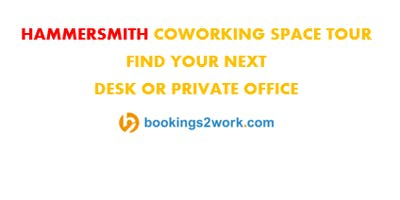 Hammersmith Coworking Space Tour - Find Your Next Hot Desk or Private Office