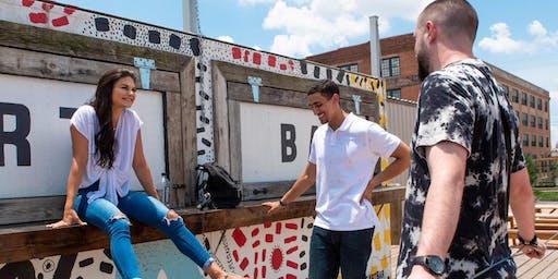 """""""Kicking it with Collin"""", a Houston entrepreneurs mixer"""
