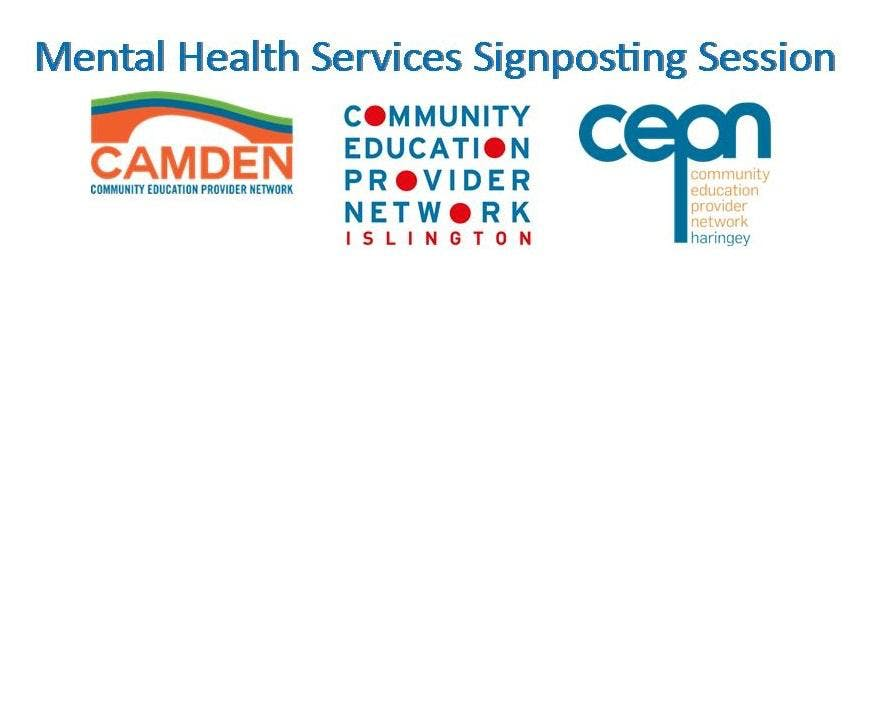 Mental Health Services Signposting - Haringey