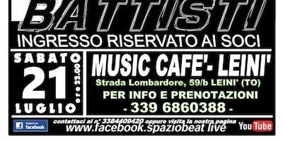 """Spazio Beat Live presentano """"Spazio Battisti"""""""
